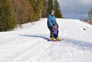Wyjazd na snowboard z dzieckiem. O czym musisz pamiętać? 2
