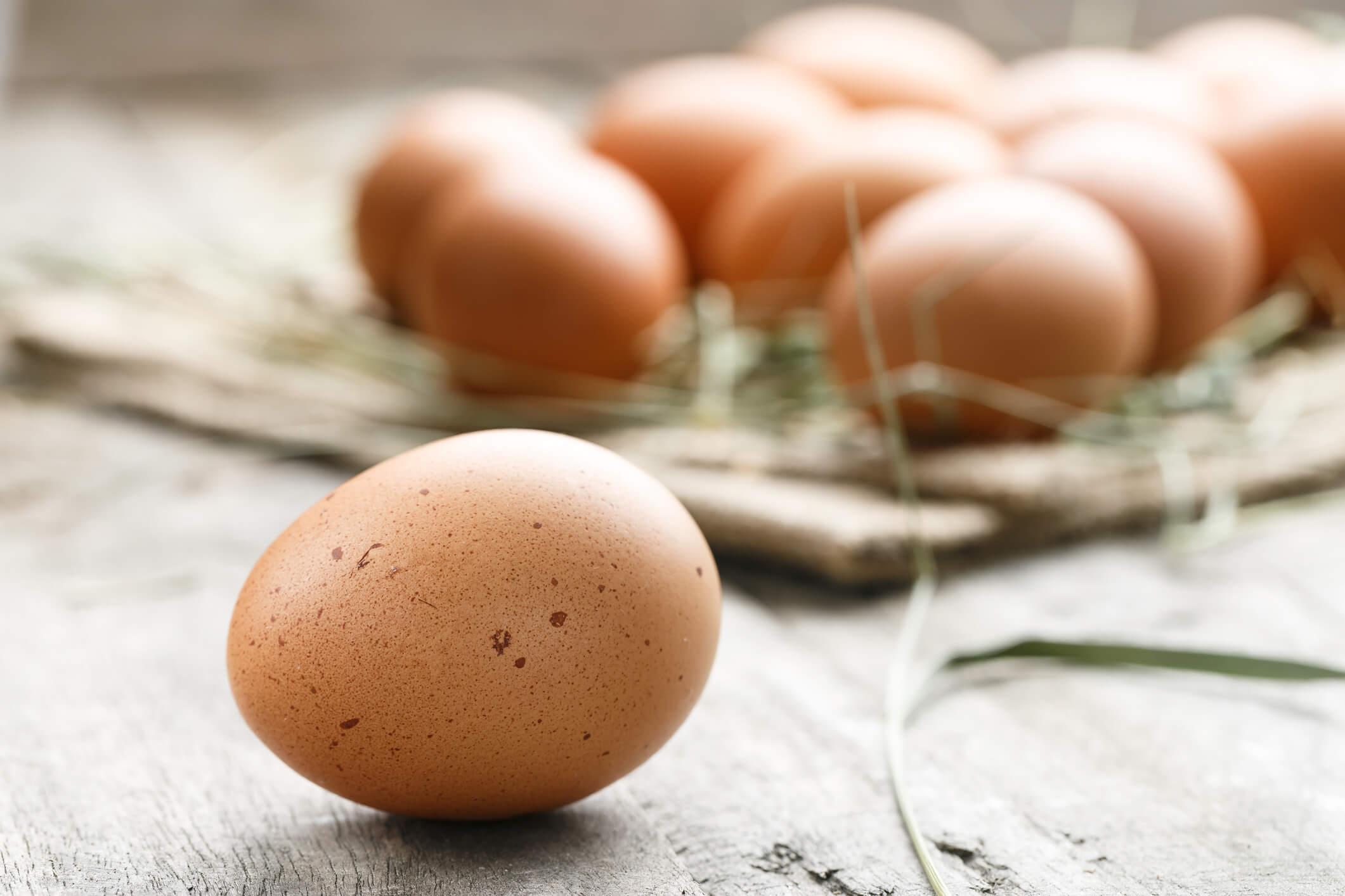gotowane jajko