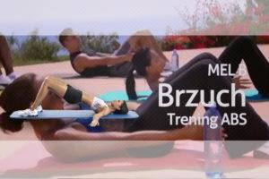 mel b trening brzuch abs